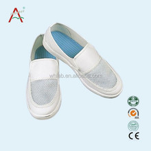OEM Workshop Dust-free and Breathable Cleanroom ESD Safety Shoes