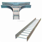Hot Dip Galvanized Steel Cable Ladder cable tray stainless steel tray perforated types of cable tray