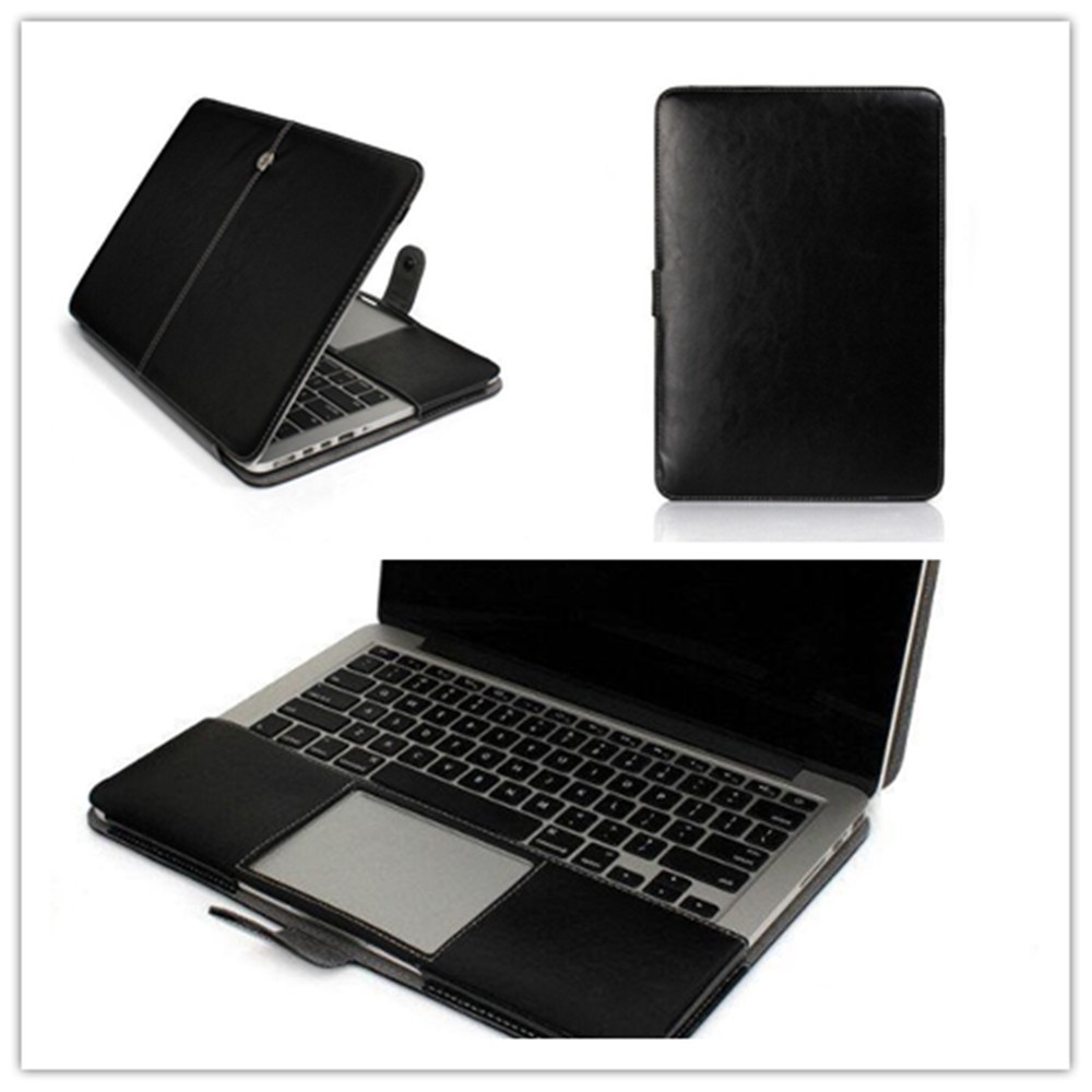 Ultra Book Leather Laptop Bag Cover Case For Macbook Pro 15