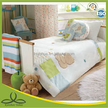 Hot sell embroidery baby crib bedding