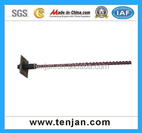 High quality steel self drilling hollow anchor bolt, High Strength Grout Bolt