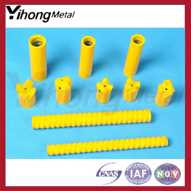 YH T40 self drilling Hollow anchor rock bolt