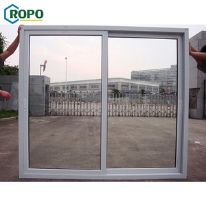 European Style Glass Hanging Decoration Fiber Slide Translucent Door System Panel