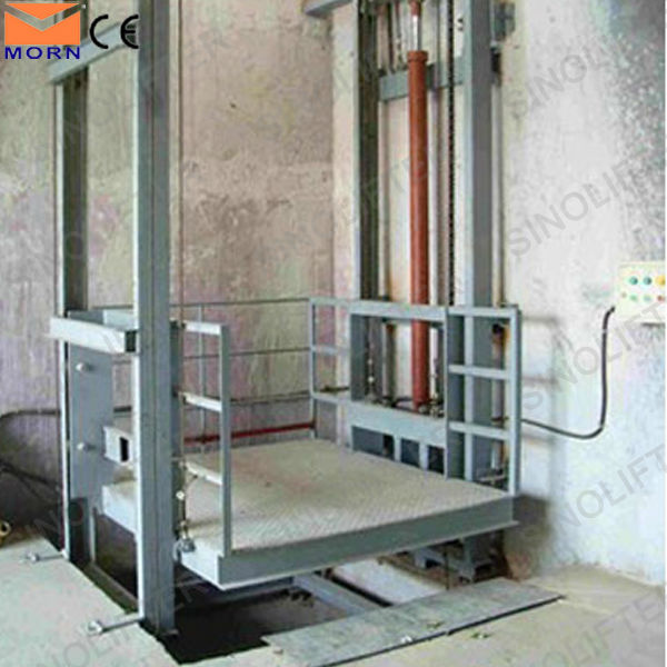 5m vertical electric lift mechanism for cargo