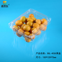 cheap plastic clamshell packaging for fruit