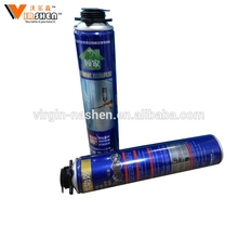 High density 750ml multi polyurethane spray foam waterproof expanding pu foam