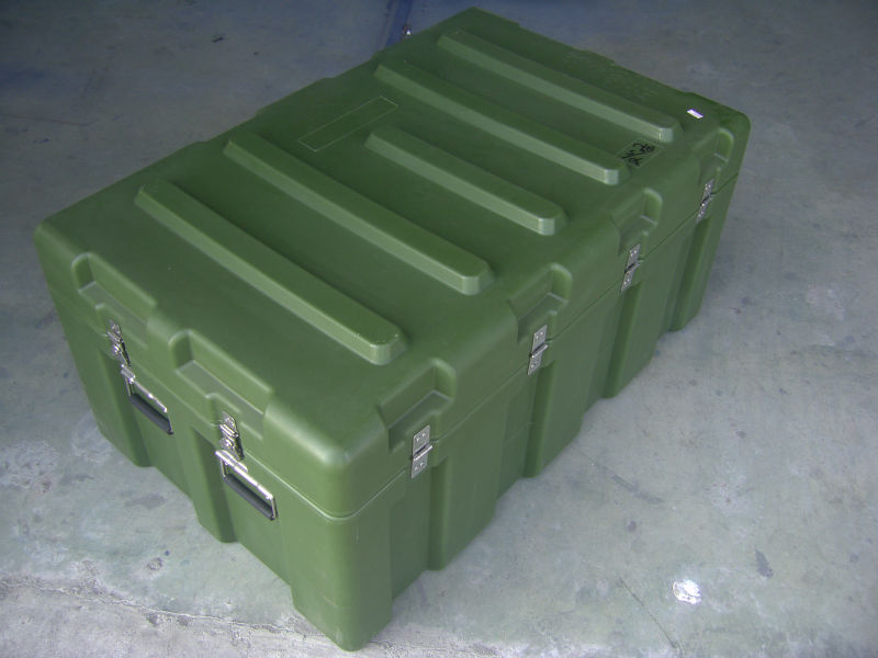 Large Flight Equipment Storage Transport Case Polyethylene Carrying Case