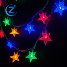 Holiday valentine lighted birthday outdoor christmas led colorful party lights string decoration