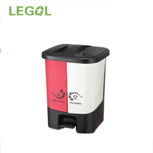 40l decorative pedal new design trash bin