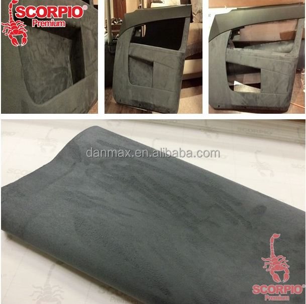 car interior decorative alcantara suede fabric vinyl wrap buy suede fabric vinyl wrap. Black Bedroom Furniture Sets. Home Design Ideas