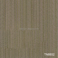 High wearproof commercial nylon carpet tile 50*50