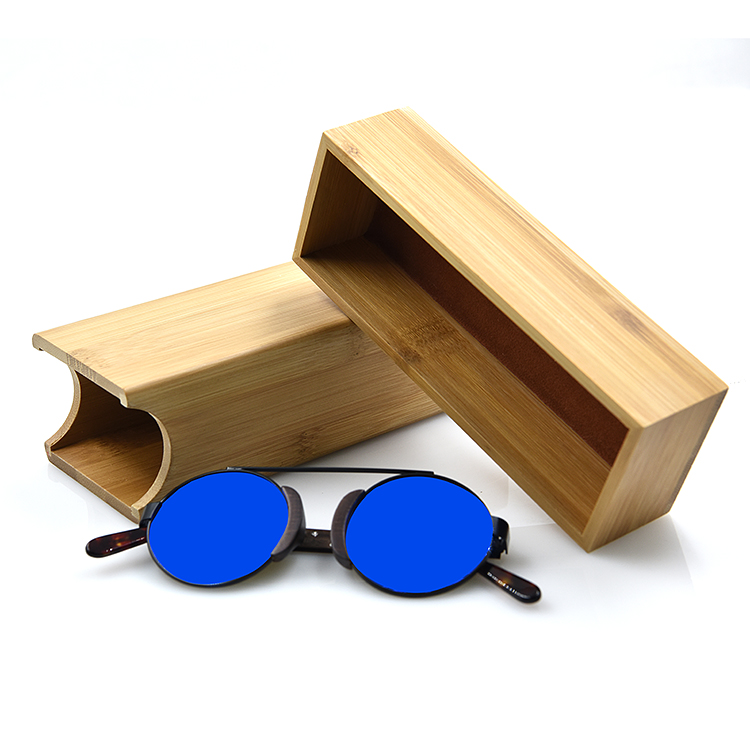 2017 Fashionable bamboo wooden sunglasses case, glasses case sunglasses