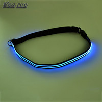 New arrival fashionable quality cheap led reflective belt
