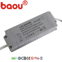 Baou 28w 30w dc20-42v 700ma led panel light driver high power high pf constant current led driver