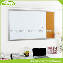 Customized design school use magnetic whiteboard with cork