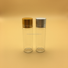 15ml empty glass bottle glass vial with aluminum cap