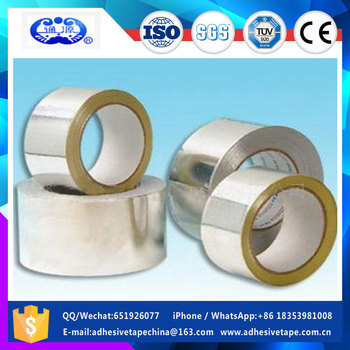 China wholesale OEM heat resistant aluminum foil tape in low price