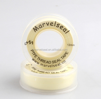newlook yellow PTFE tape gas line with transparent plastic spool
