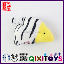 Animal finger puppet customzied fish hand puppet