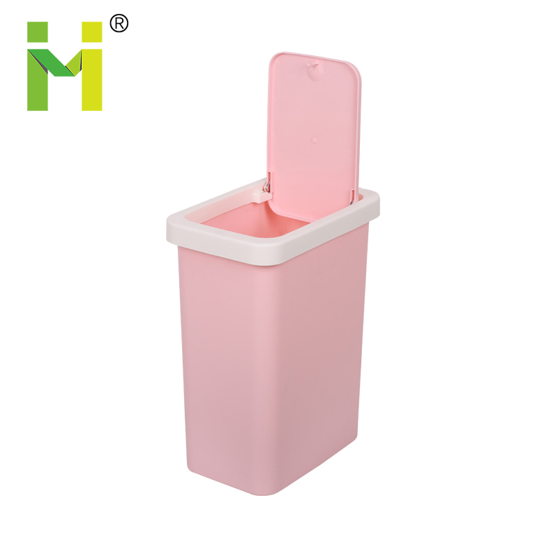 PP wholesale plastic dustbin trash/garbage/waste/cheap trash can/refuse bin can