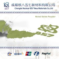 china manufacturer of Nickelous oxide powder