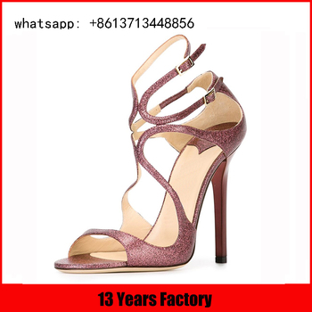 cosmo upper with ladies party wear high heel straps shoes for women sexy sandals
