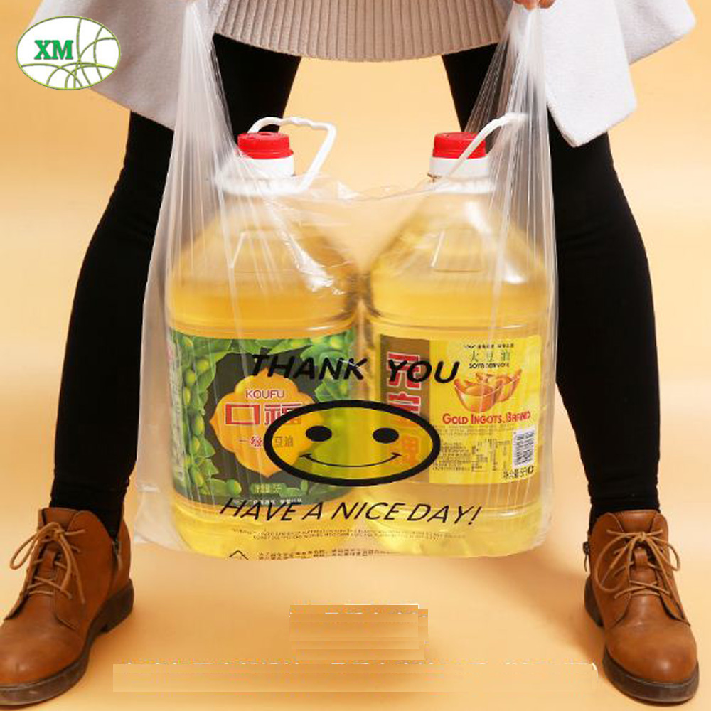 Biodegradable Food Packaging Polythene Polyester Shopping Bag