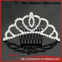 Korean ladies fashion princess bride crown headwear marriage jewelry wedding hair accessories manufacturers wholesale
