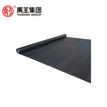 Standard size polymeric self adhesive underground waterproof membrane