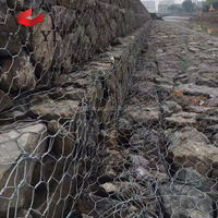 welded gabion mesh/hesco bastion/gabion box wire fencing