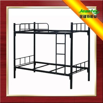 Steel Double Decker Beds : Steel Bunk Bed/double Decker Bed/guangzhou Single Metal Bunk Beds ...