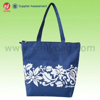Decorative storage Custom Made 600D Polyester Storage Bag With Zipper For Shopping