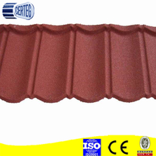 sand stone coated metal roof tile from China factory