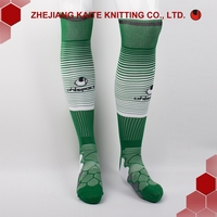 D-F-0007 bulk OEM high quality cotton Men sport knee high football socks soccer socks basketball socks wholesale