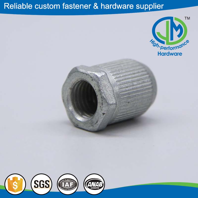 Reliable performance knurled thumb gi bolts and nuts