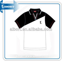 New Design Summer Volleyball pattern polo shirt