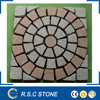 Grey red granite paving stone for outdoor