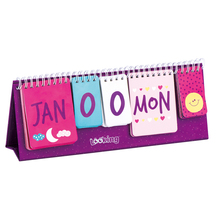 LOOKING New Designs Desk Calendar With Stand For Kids