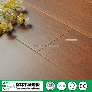 Indoor American Black Walnut Teak color engineered wood flooring