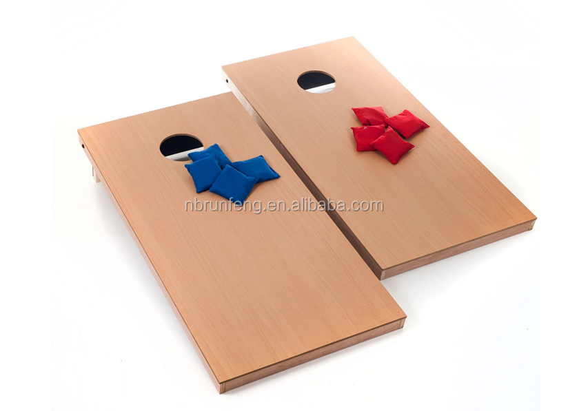 indoor desktop bean bag toss cornhole game
