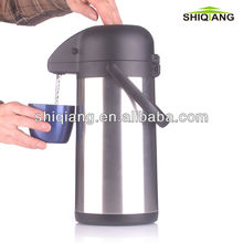 2.5L double wall stainless steel vacuum thermos air pressure water pot