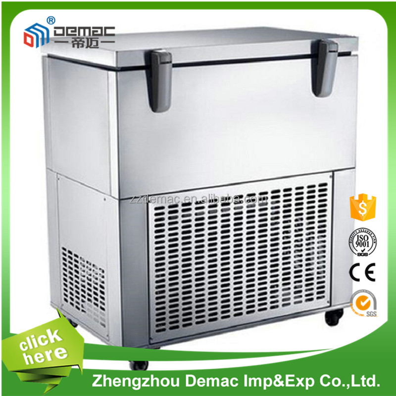 cheap ice maker machine for coffee shop/commercial crushed ice machine automatic ice maker machine from henan,china