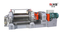 Rubber two roll mill