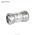 Galvanized steel pipe fittings zinc coated compression type emt coupling