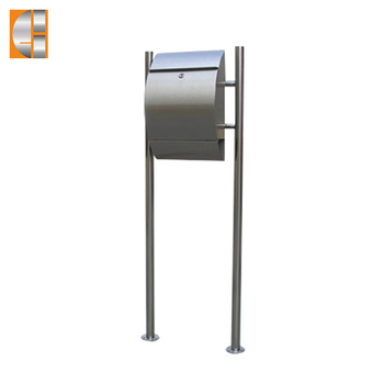 GH-1311S2U stainless steel free standing outdoor mailbox