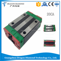 HIWIN Taiwan made 2pcs HGR20 or HGW20CA narrow sliding block cnc par