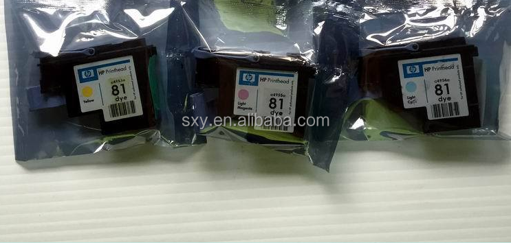 C4954A for HP 81 Light Cyan print head for HP Designjet 5000 5000PS 5500 5500PS