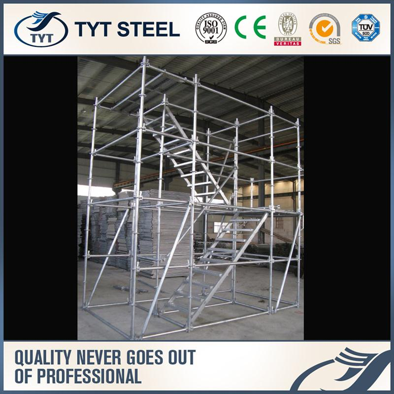 steel lattice tower folding scaffolding frame steel lattice tower