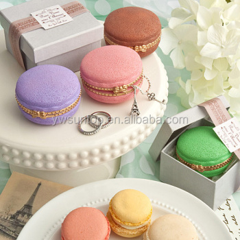 Macaroon Design Curio Boxes favors