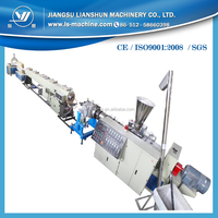 PVCG110 PVC plastic production plant for producing pipe